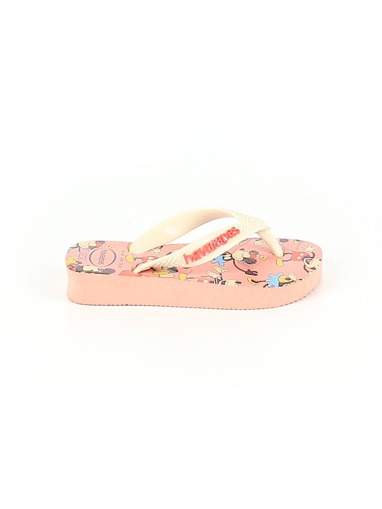 Havaianas Girls Flip Flops Size 9