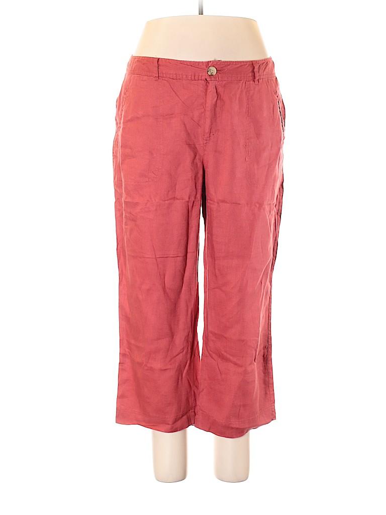 Cherokee Women Linen Pants Size 16