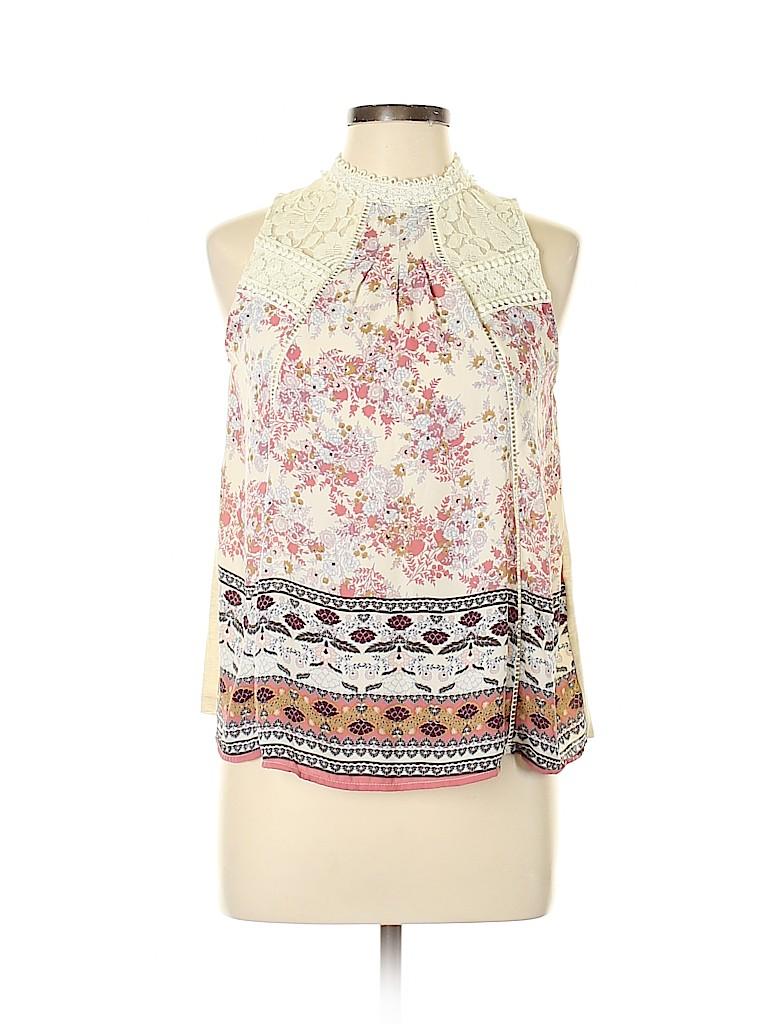 Taylor & Sage Women Sleeveless Blouse Size L