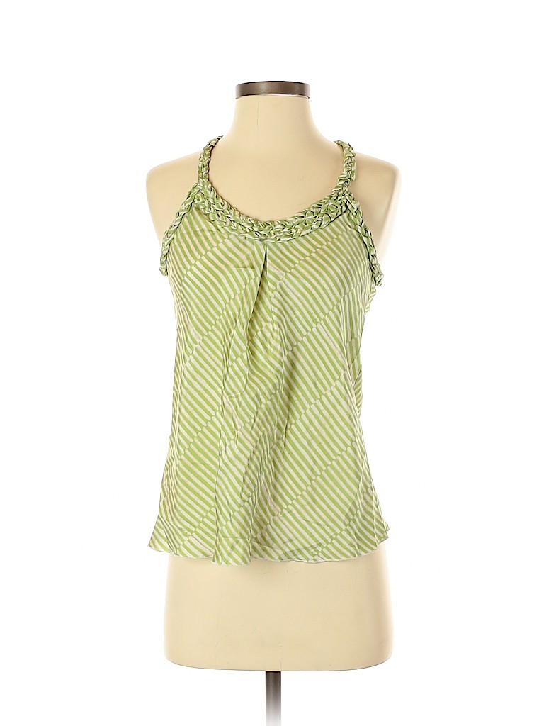 Banana Republic Women Sleeveless Silk Top Size XS