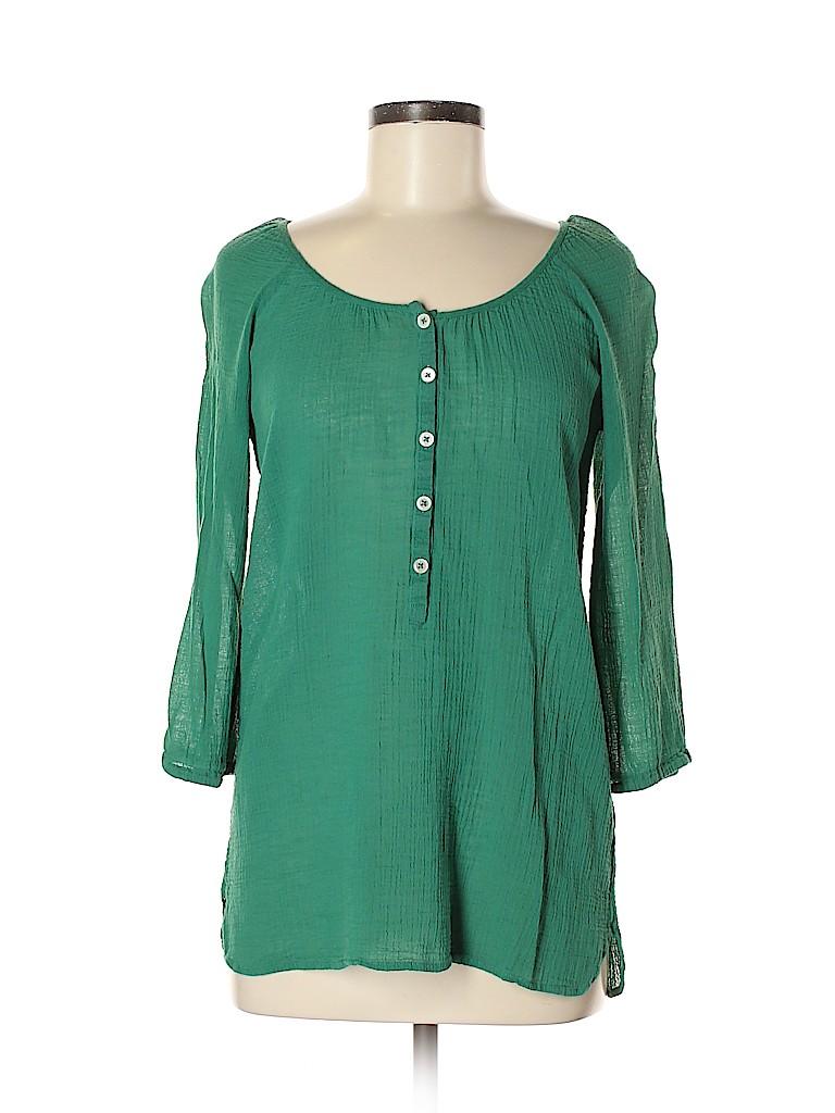 J. Crew Women 3/4 Sleeve Blouse Size XS