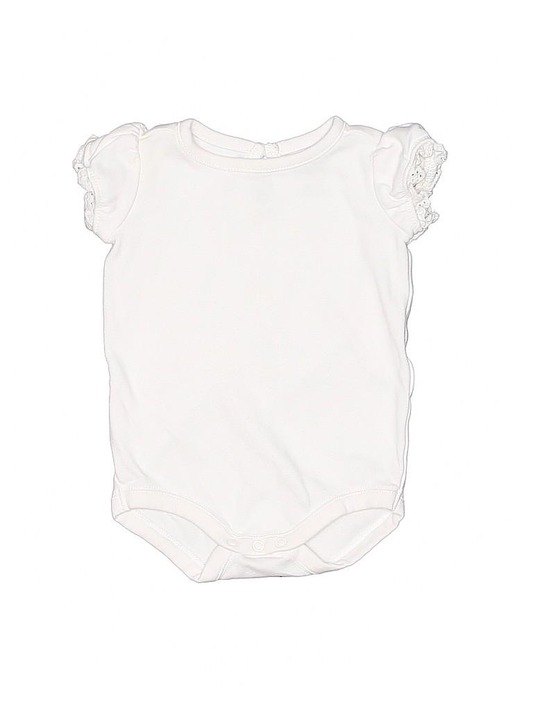 Gymboree Girls Short Sleeve Onesie Size 3-6 mo