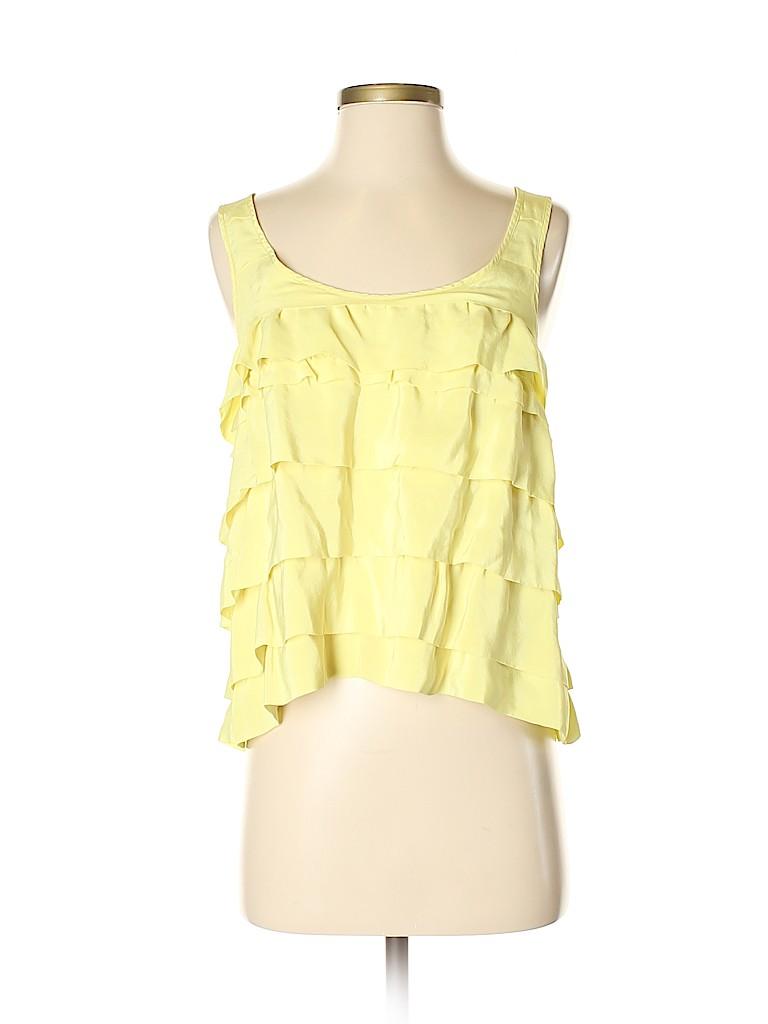 Madison Marcus Women Sleeveless Silk Top Size M