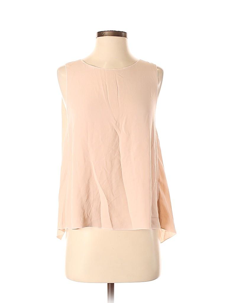 Nina Ricci Women Sleeveless Silk Top Size 36 (FR)
