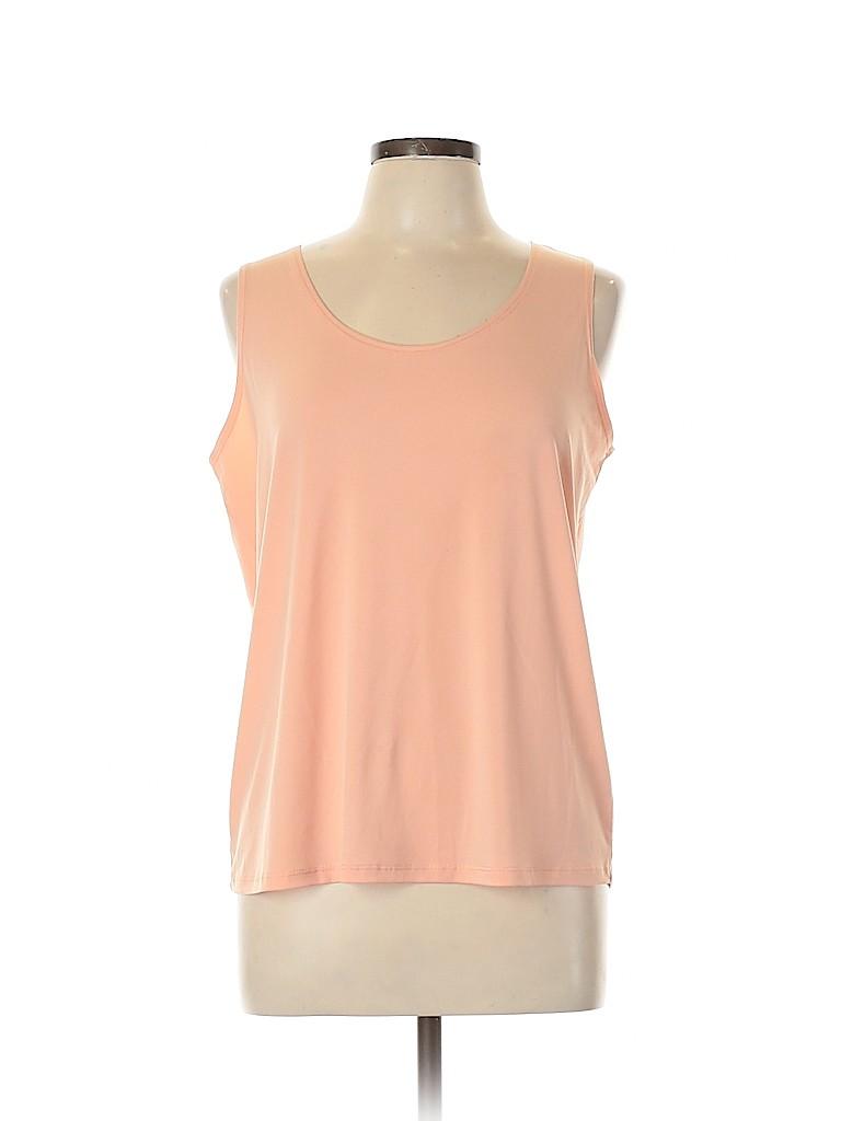 Slinky Brand Women Sleeveless Top Size L