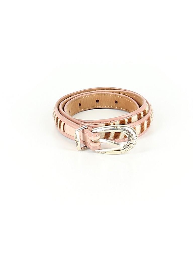 Brighton Women Leather Belt Size Med - Lg