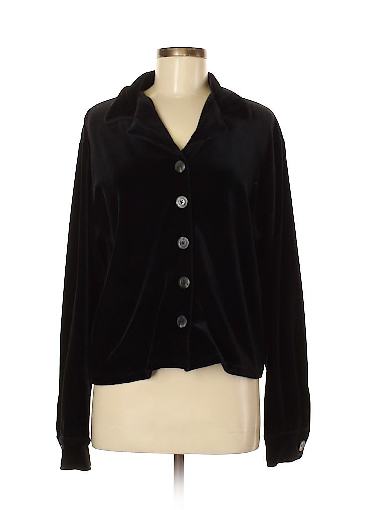 Amanda Smith Women Long Sleeve Top Size L