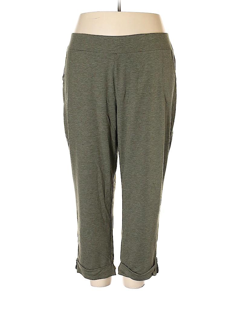 LOGO Women Sweatpants Size 3X (Plus)