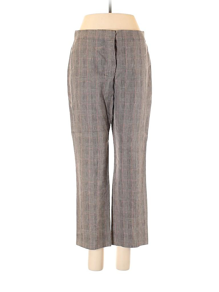 Sonia Rykiel Women Linen Pants Size 38 (EU)