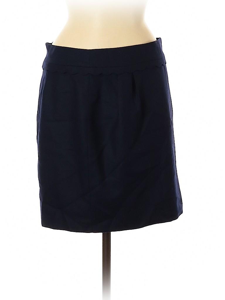 J. Crew Women Wool Skirt Size 6