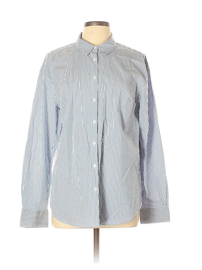 A New Day Women Long Sleeve Button-Down Shirt Size XL