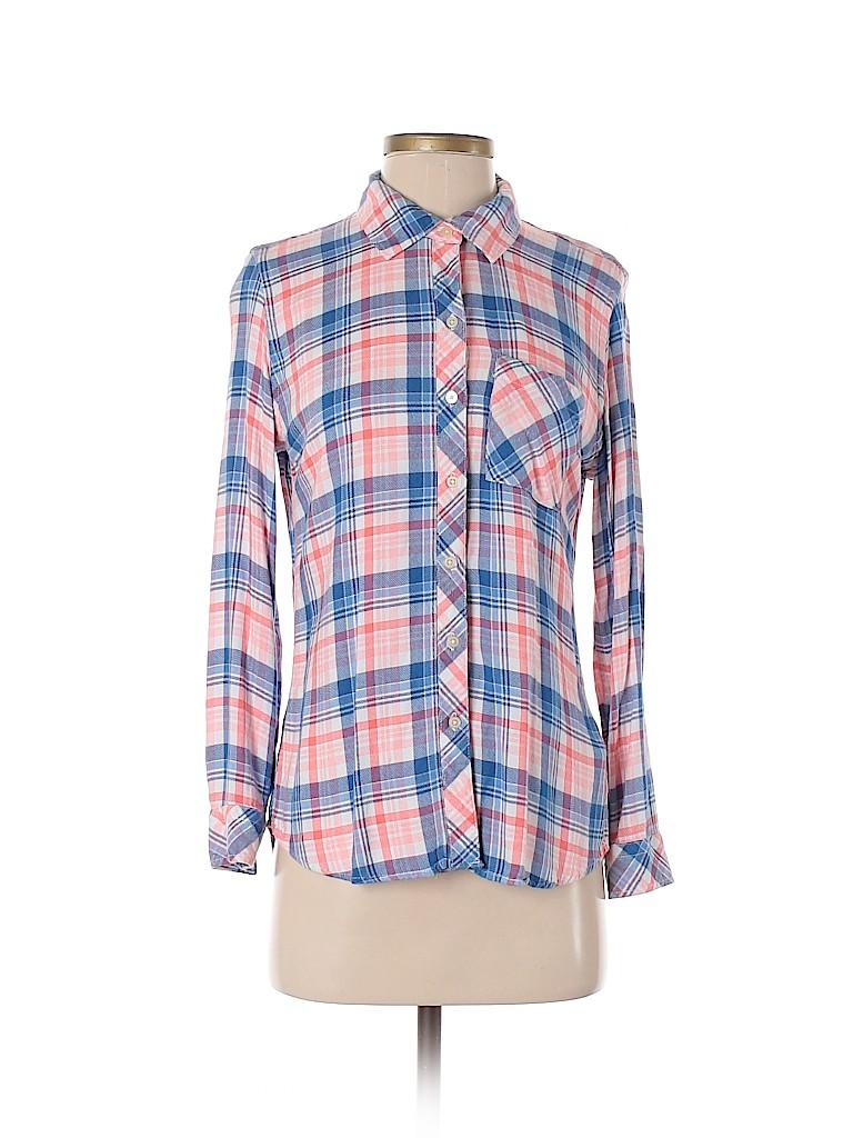 Gap Women Long Sleeve Button-Down Shirt Size XS