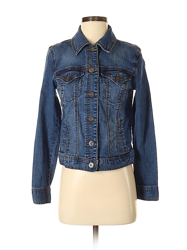 Style&Co Women Denim Jacket Size XS