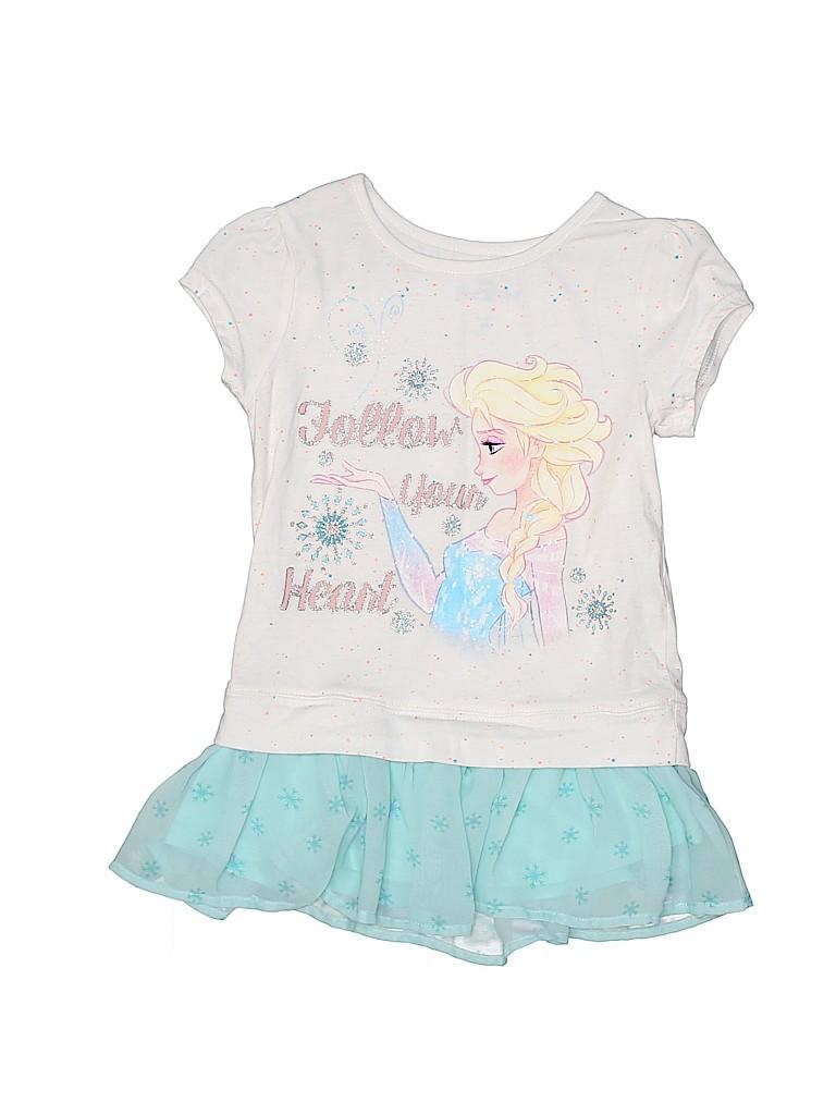 Disney Girls Short Sleeve Top Size 6X