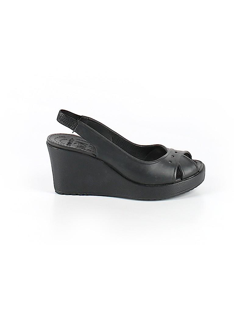 Crocs Women Wedges Size 7