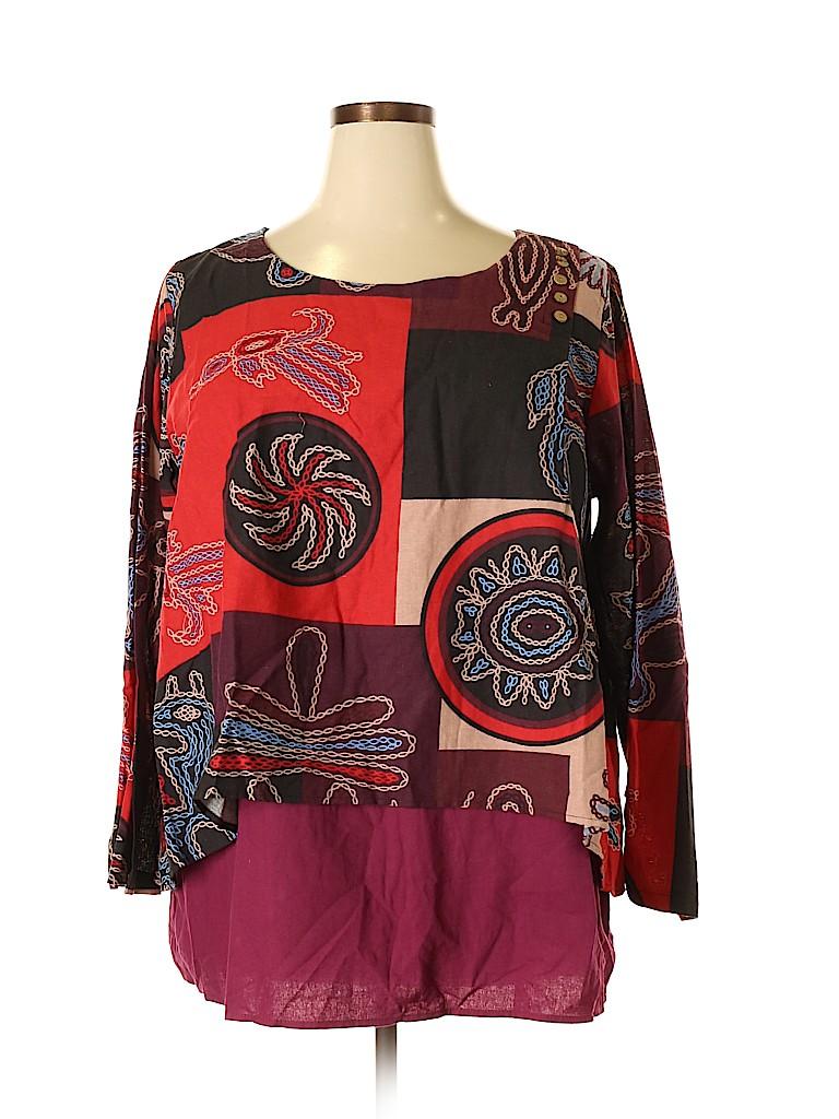 Gracila Women Long Sleeve Blouse Size 4X (Plus)