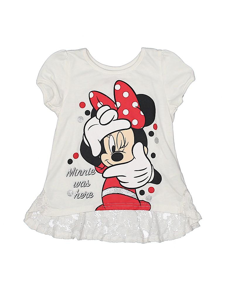 Disney Girls Short Sleeve T-Shirt Size 4T