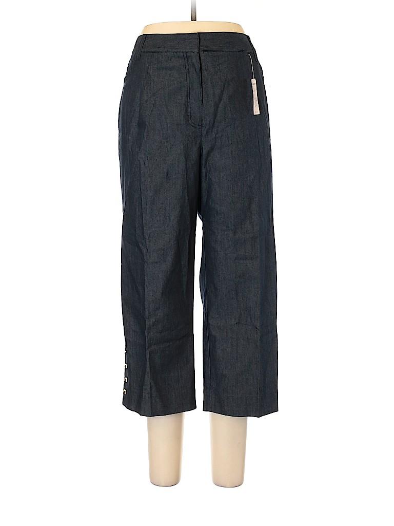 Roz & Ali Women Casual Pants Size 16 (Plus)