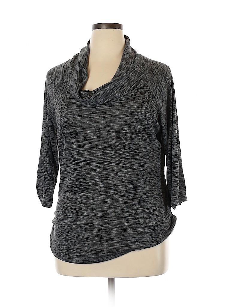 Gibson Women 3/4 Sleeve Top Size XL