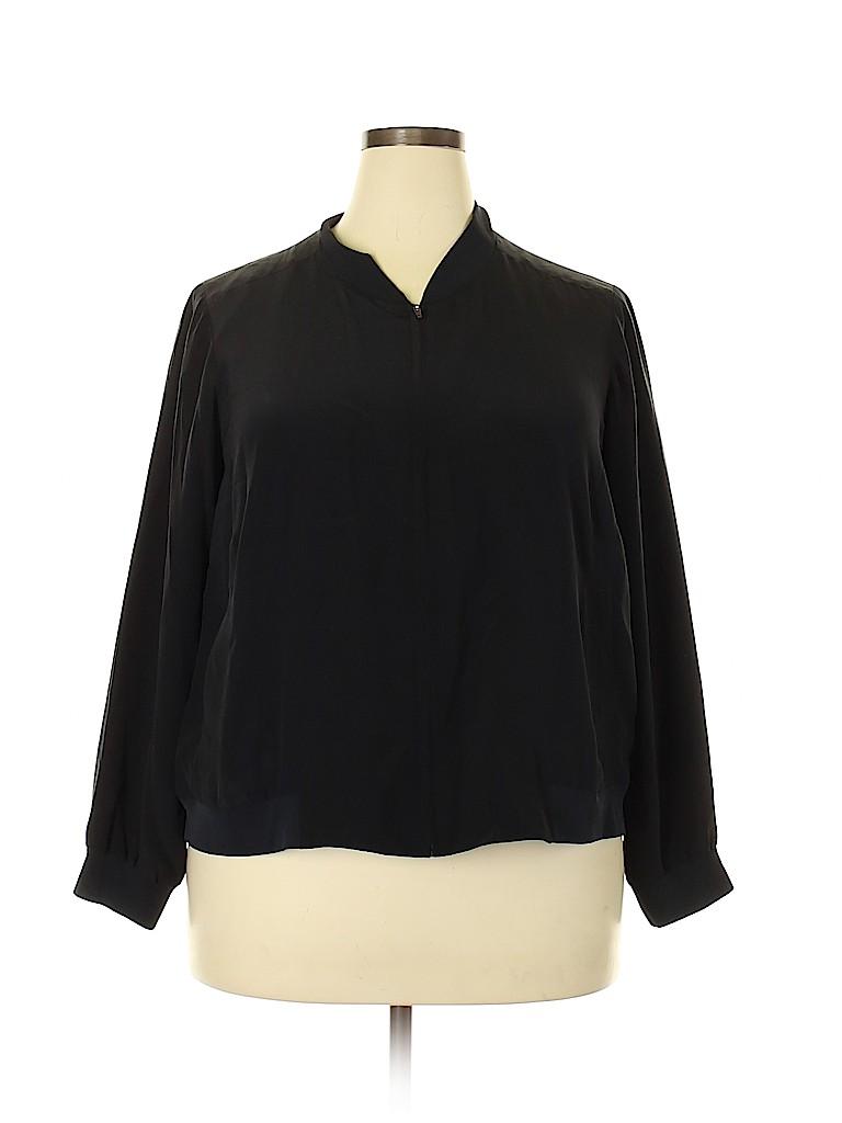 Eileen Fisher Women Jacket Size 1X (Plus)