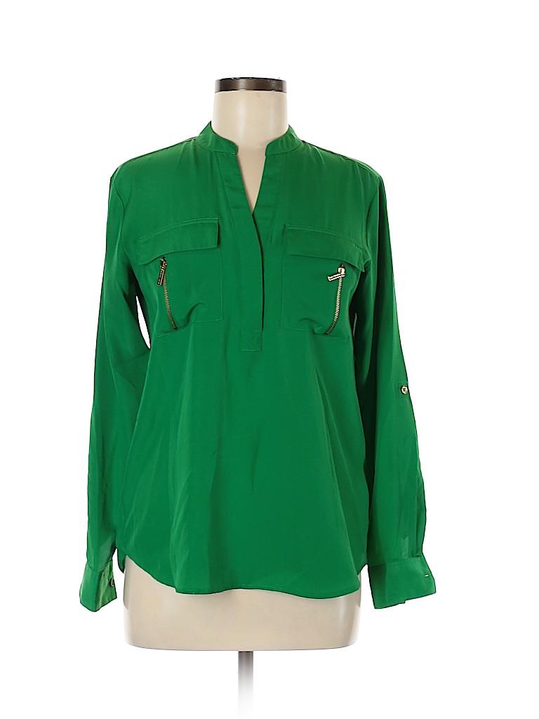 MICHAEL Michael Kors Women Long Sleeve Blouse Size XS