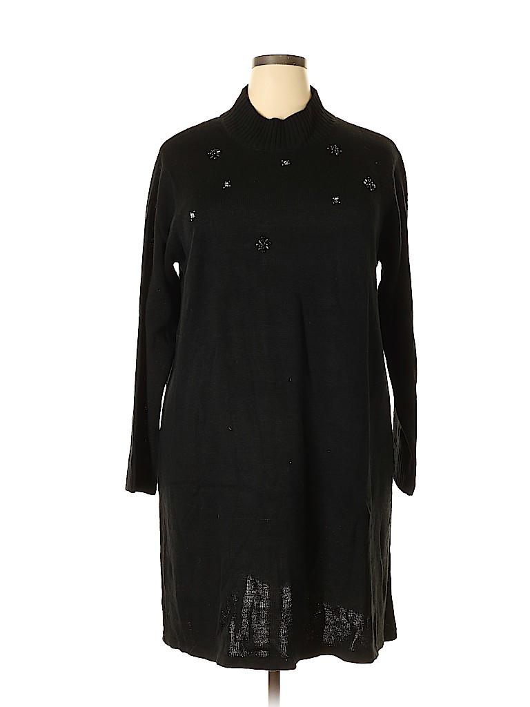 Signature collection Women Casual Dress Size 2X (Plus)