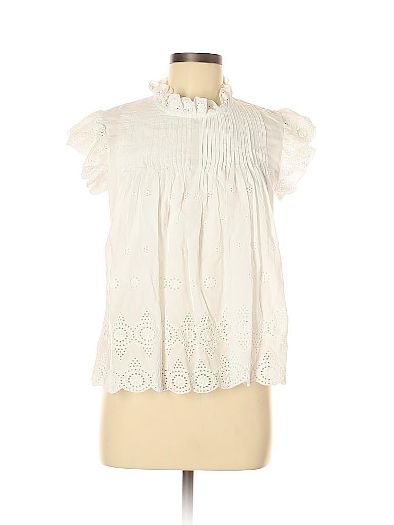 Assorted Brands Women Short Sleeve Blouse Size M