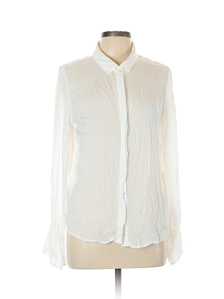 Bella Dahl Women Long Sleeve Blouse Size L