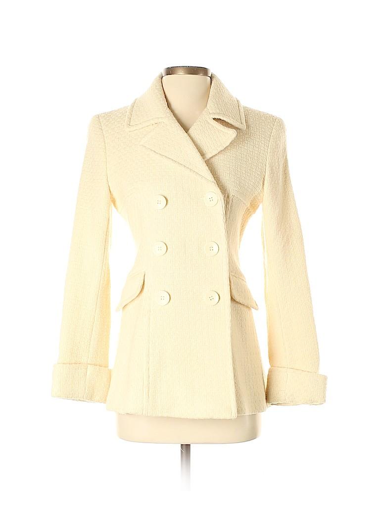 Moda International Women Wool Coat Size XS