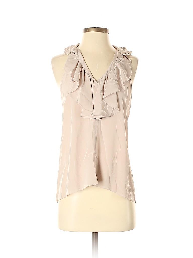 Geren Ford Women Sleeveless Silk Top Size S
