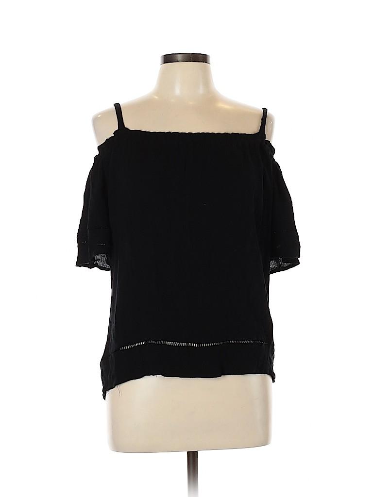 Gibson Women Short Sleeve Top Size L