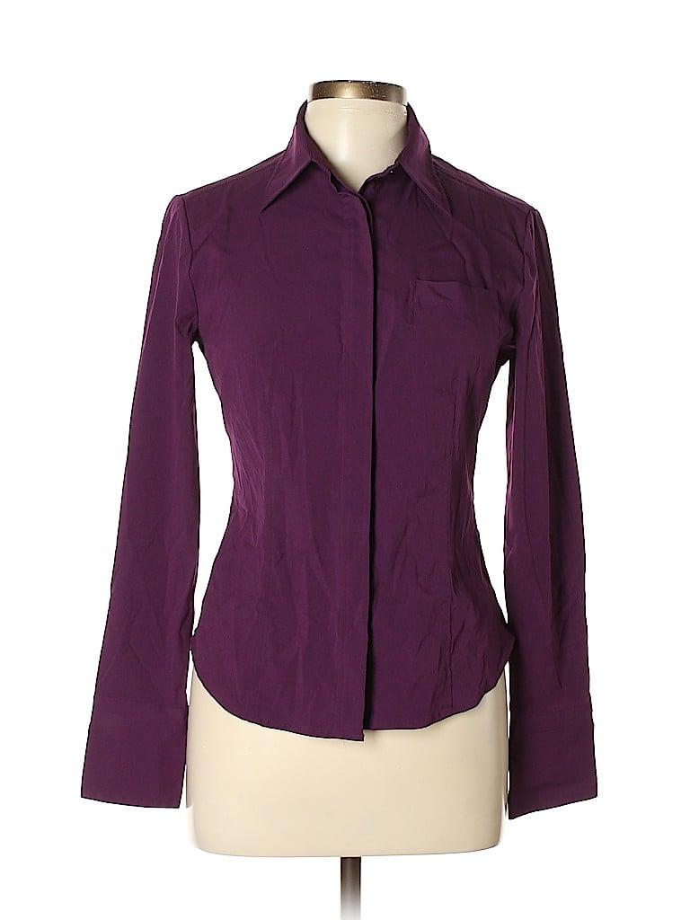 Express Women Long Sleeve Button-Down Shirt Size 7