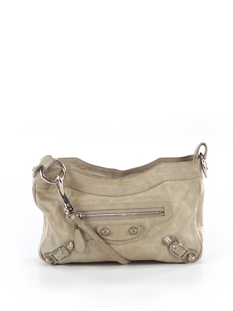 Balenciaga Women Leather Crossbody Bag One Size