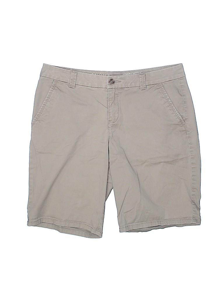 SONOMA life + style Women Khaki Shorts Size 6