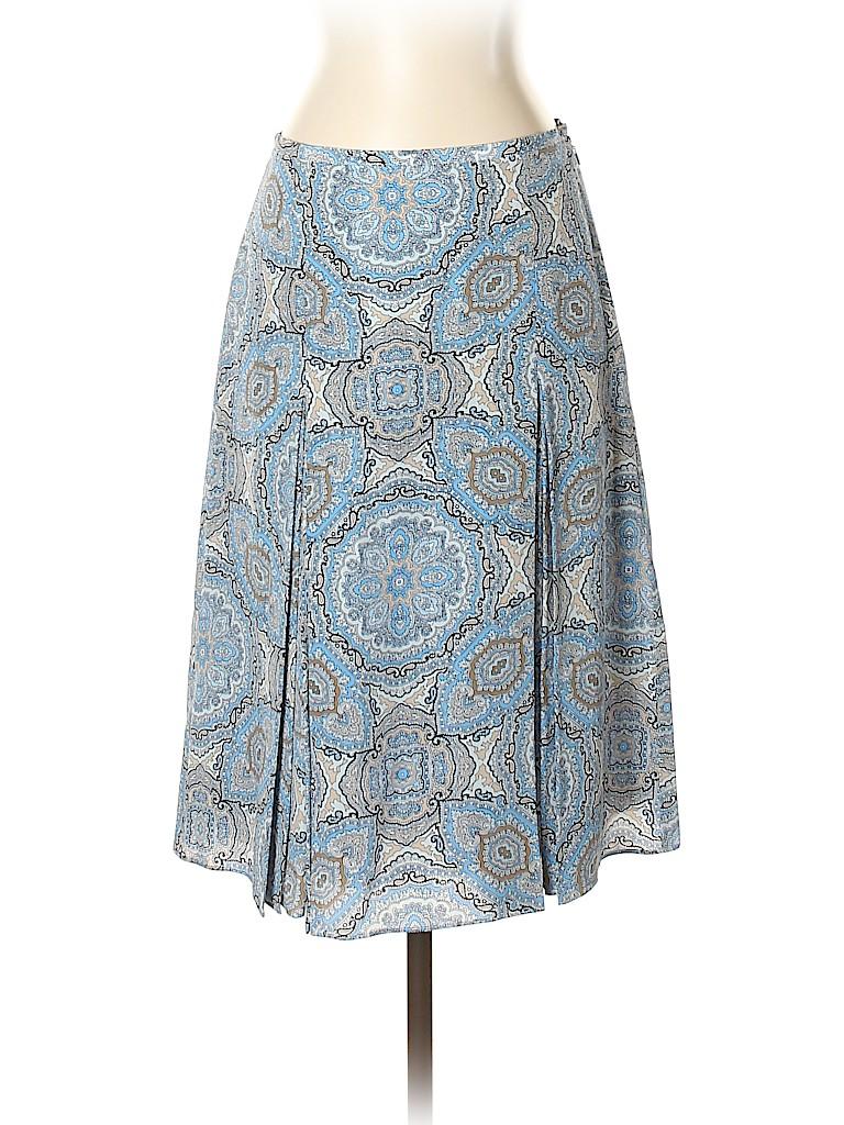 Ann Taylor LOFT Women Silk Skirt Size 2