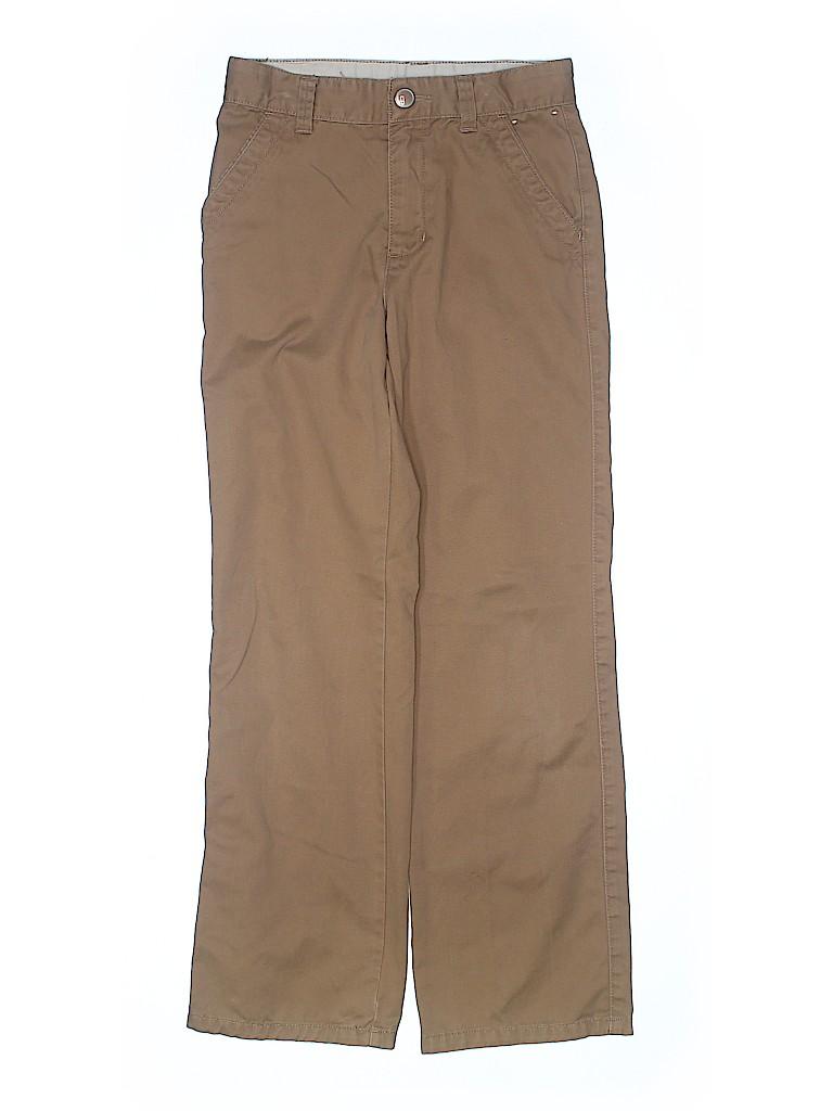 Gymboree Boys Khakis Size 10 (Slim)