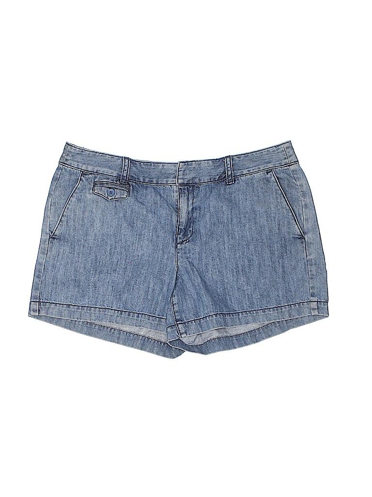Ann Taylor LOFT Women Denim Shorts Size 8