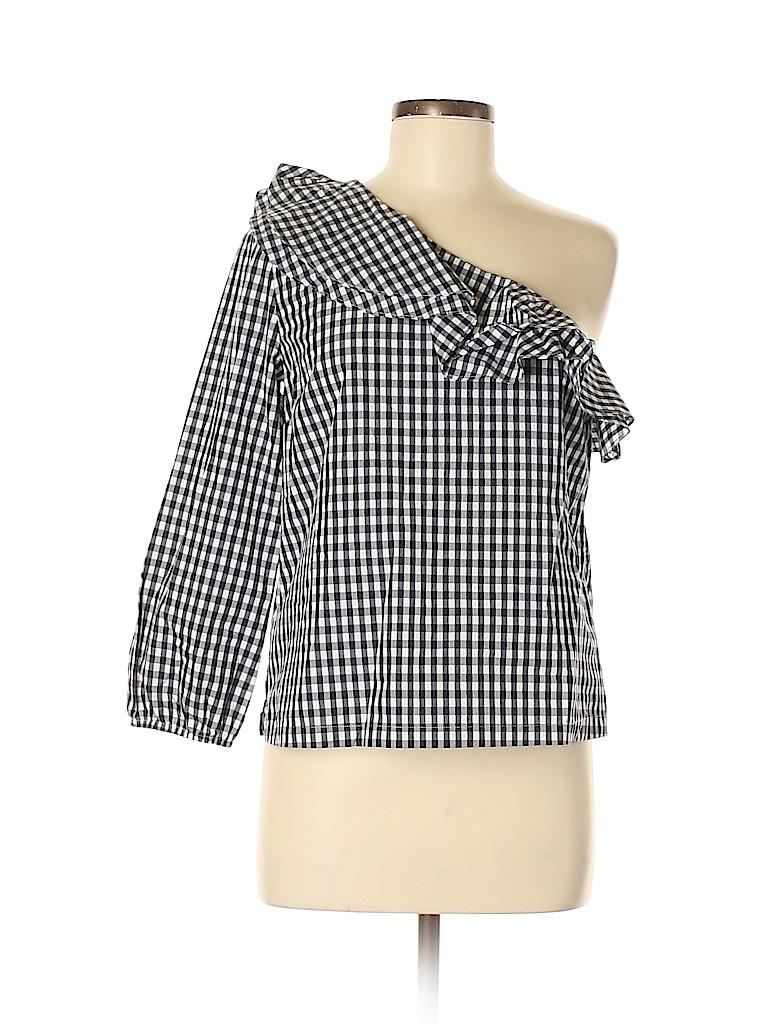 J. Crew Women Long Sleeve Blouse Size 6