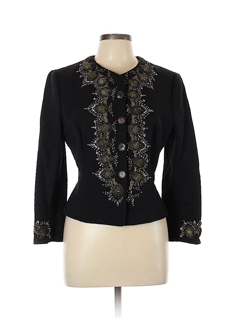 Badgley Mischka Women Blazer Size 12