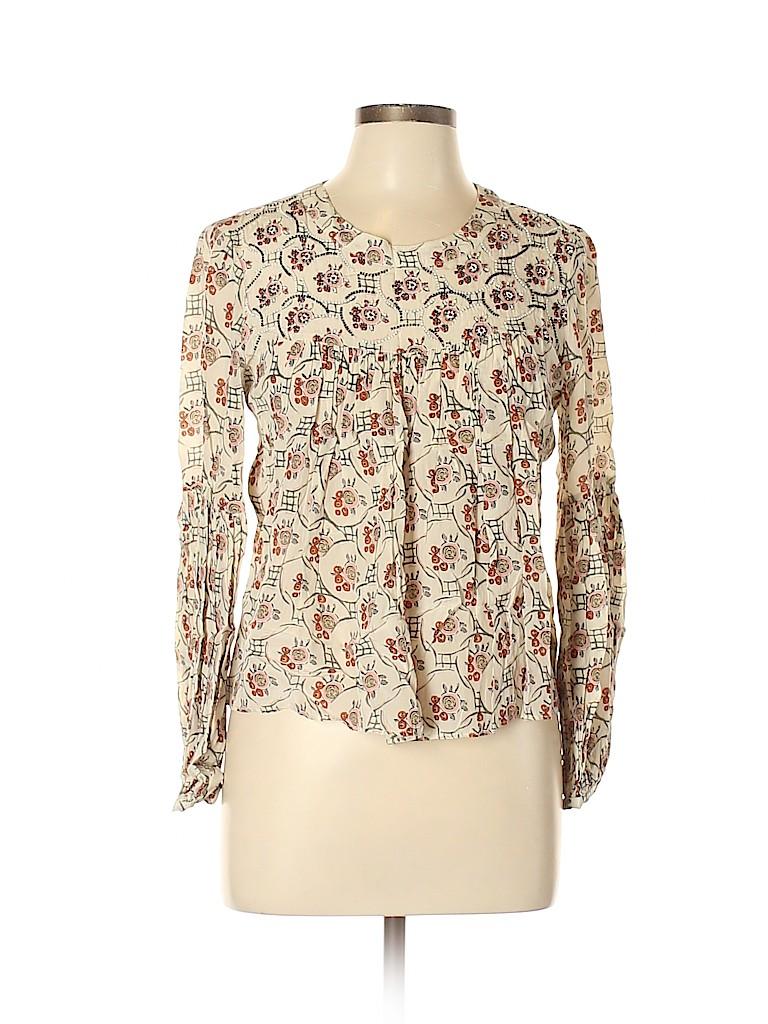 Floreat Women Long Sleeve Blouse Size 8