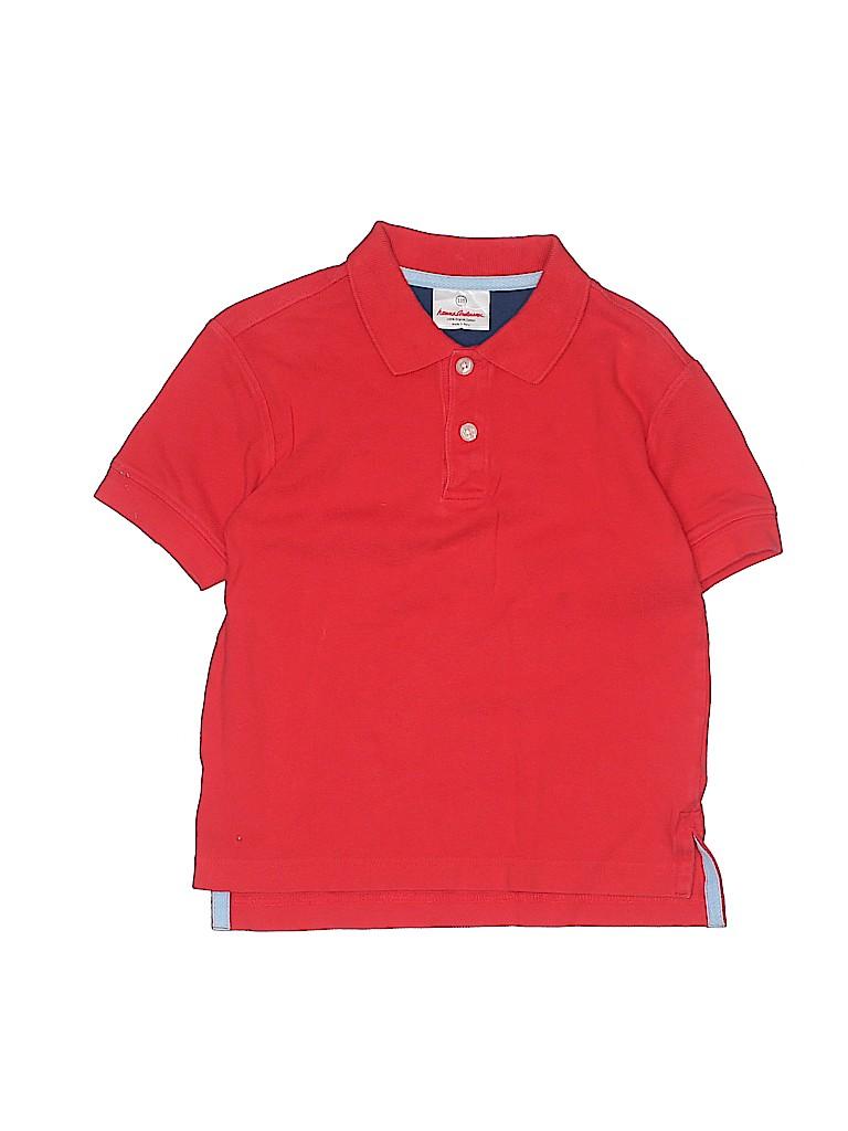 Hanna Andersson Boys Short Sleeve Polo Size 110 (CM)