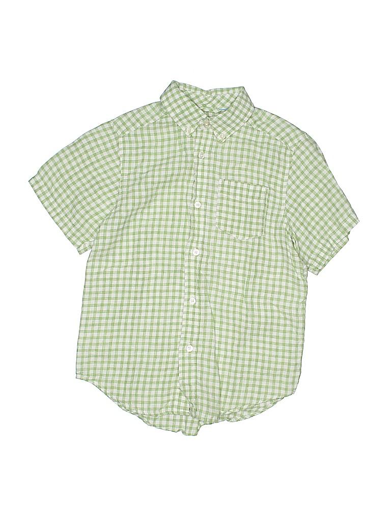 The Children's Place Boys Short Sleeve Button-Down Shirt Size 7 - 8