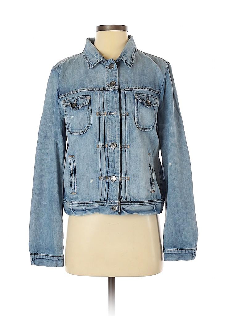 J. Crew Women Denim Jacket Size M