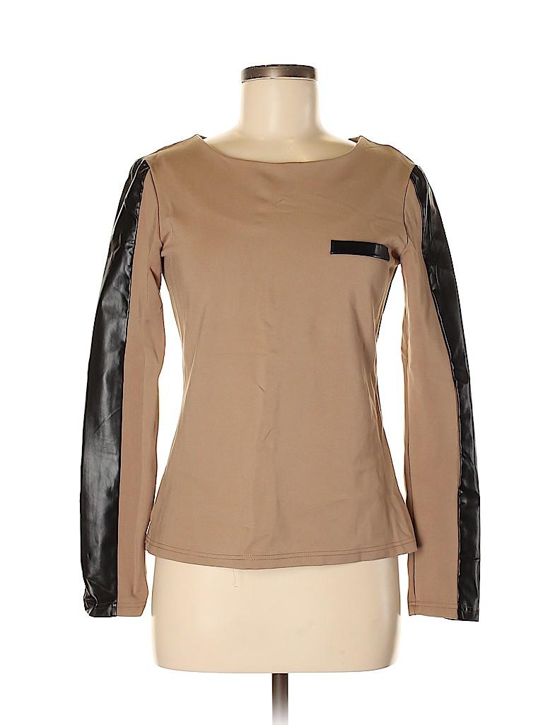 W118 by Walter Baker Women Long Sleeve Top Size S