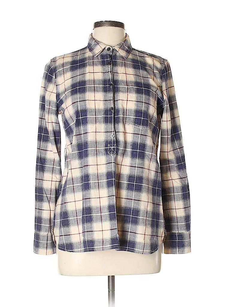 J. Crew Women Long Sleeve Button-Down Shirt Size S