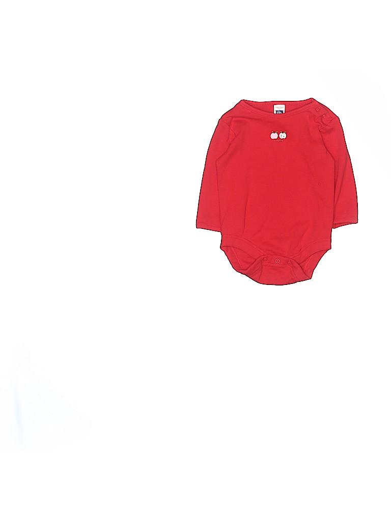 Baby Gap Girls Long Sleeve Onesie Size 3 mo