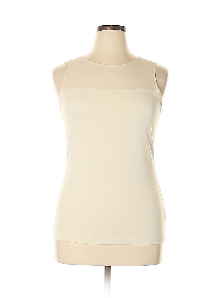 Banana Republic Women Sleeveless Blouse Size L