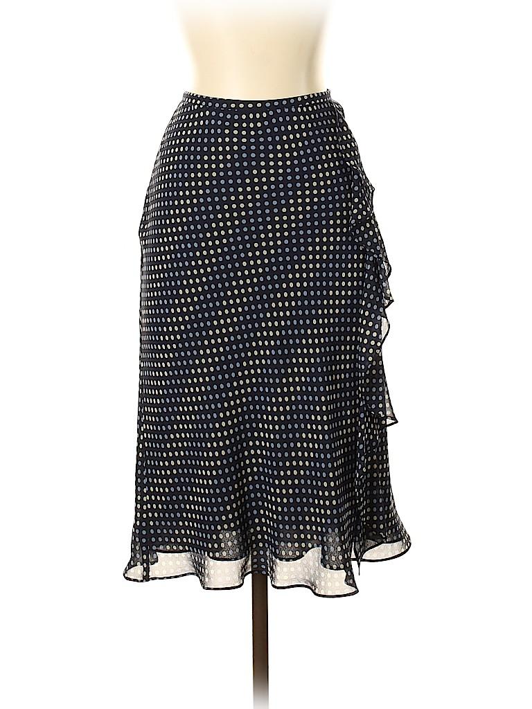 Ann Taylor LOFT Women Silk Skirt Size 4