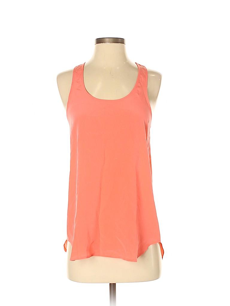 Acrobat Women Sleeveless Silk Top Size XS