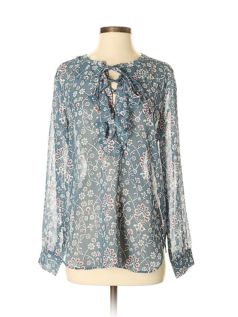 Ann Taylor LOFT Women Long Sleeve Blouse Size S